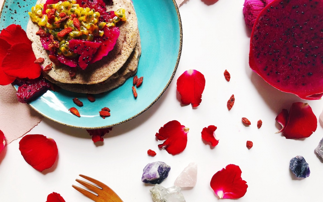INDULGE | Red Rice Vegan Pancakes